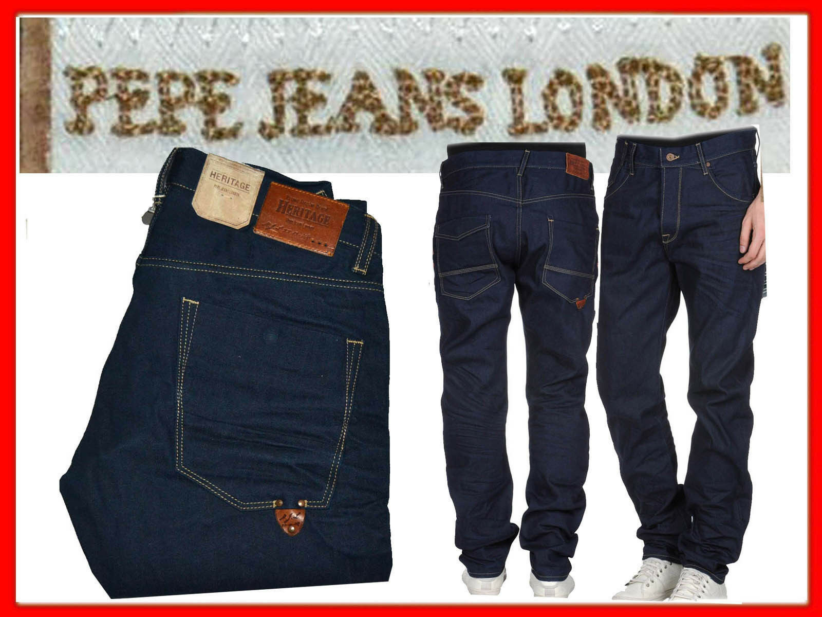 PEPE JEANS LONDON Jeans For Man Size 32 US   48 italy EVEN - 85 % ¡¡¡ PJ01 TOL2