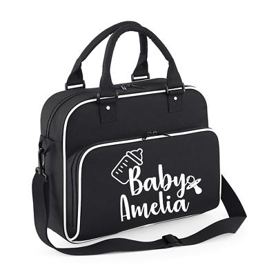 Personalised Name Baby Bag Baby Changing bag Personalised Mum Bag Pram
