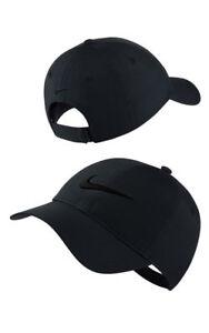 c70967c0a26 NIKE Women s Legacy 91 Golf Cap - BLACK - ADJUSTABLE 826220020587