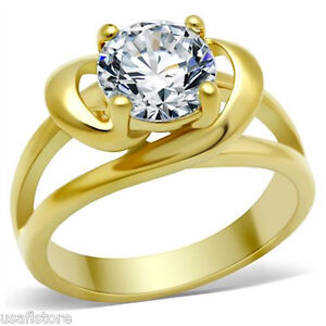3-25-Carat-Round-CZ-Anniversary-Gold-EP-Engagement-Solitaire-Ring