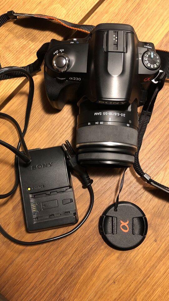 Sony, A230, spejlrefleks