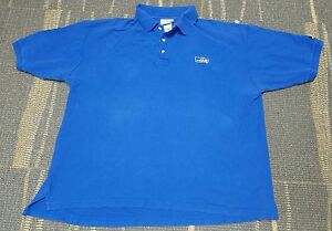 huge selection of e567f c04e2 Details about Vintage Seattle Seahawks Blue Puma Polo Style Shirt Men's XXL  Old School Retro