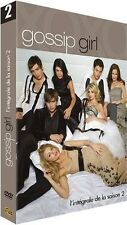2007 // GOSSIP GIRL SAISON 2 COFFRET 6 DVD NEUF SOUS BLISTER