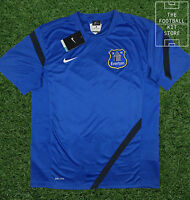 Everton Training Shirt - Official Nike Efc Training Wear - Mens - Large | Xl