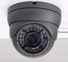 HD-TVI 1080p 2.4MP Motorized Zoom Auto Focus 2.8-12 Dome Camera Sony CMOS - Grey