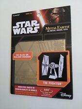 STAR Wars metallo terra Tie Fighter
