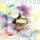 Yellowcard Lift a Sail LP 13 Track Limited Edition Clear Vinyl With Multi Swirl
