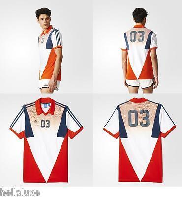 nw~Adidas Originals FOOTBALL HERITAGE Jersey Soccer Superstar Shirt Top~Men sz M 888597735617   eBay