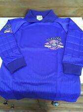 Vintage 1980s Reusch Aero-club Football Goalkeeper Shirt Top Boys size 8/9 Years