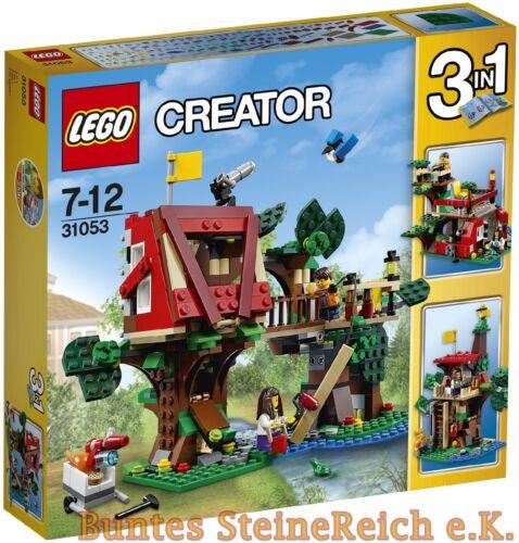 € expédition /& OVP /& NOUVEAU! LEGO ® Creator 3 en 1 31053 cabane aventure /& 0