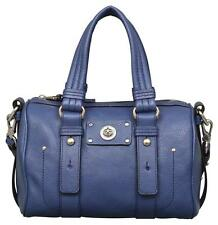 NWT MARC BY MARC JACOBS Totally Turnlock Lil Shifty Deep Blue Stachel, Purse