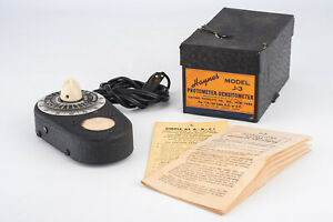 Haynes Modell j-3 Photometer Densitometer in OVP mit Anleitung funktioniert v10
