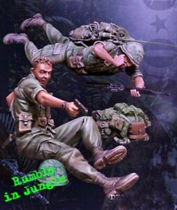 1-35-Resin-US-Army-Jungle-Fight-Nam-War-Unassembled-Unpainted-BL732