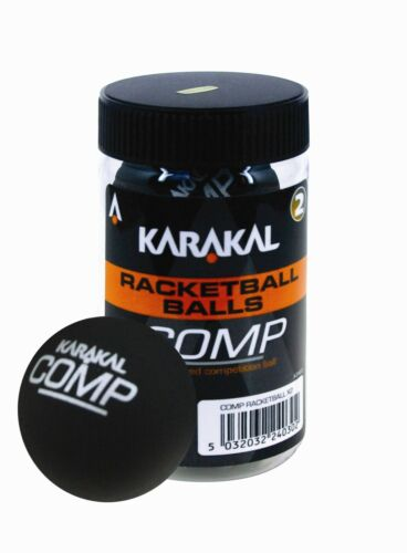 Karakal Sealed Tube Of Competition Racket Ball Balls