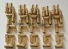12 Pex 10 Elbow 10 Tee 10 Coupling Fittings Lead Free Brass 30pcs