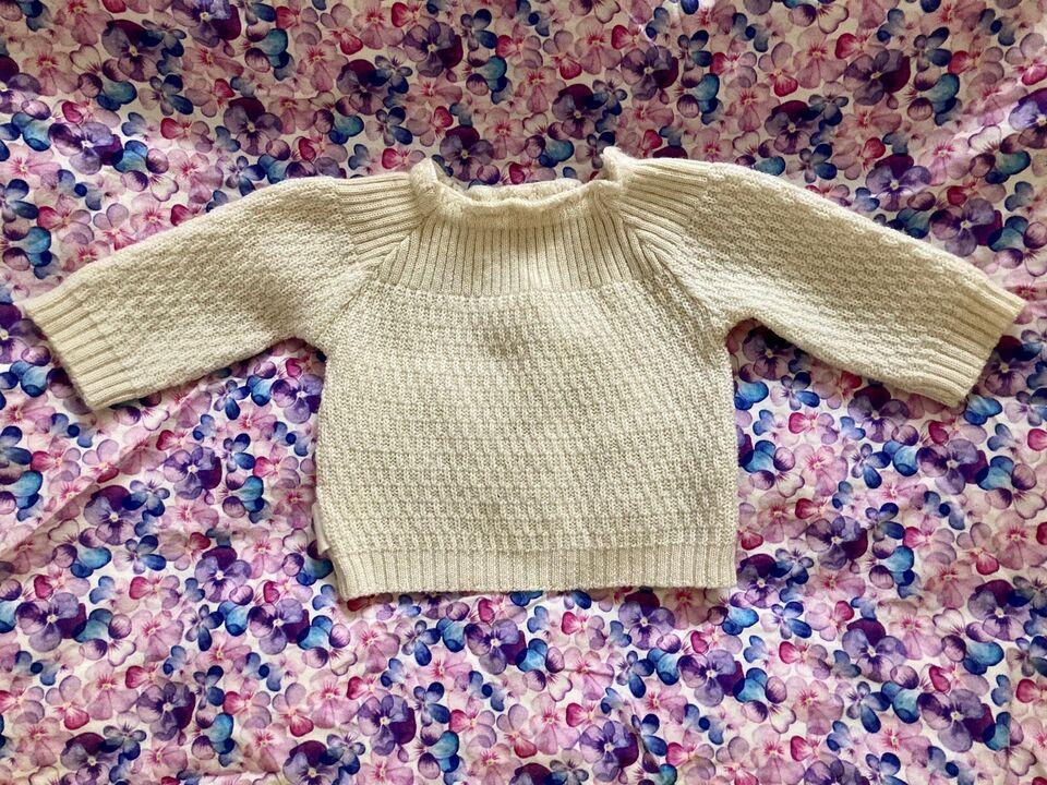 Sweater, Merinould striktrøje, Selana