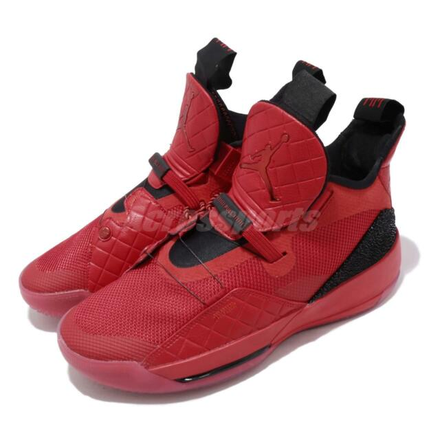 separation shoes b8626 2e679 Nike Air Jordan XXXIII PF 33 University Red Black Men Basketball Shoe  BV5072-600