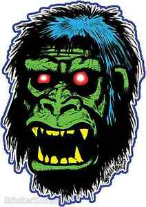 Monstilla-Gorilla-Sticker-Decal-Ben-Von-Strawn-BV7