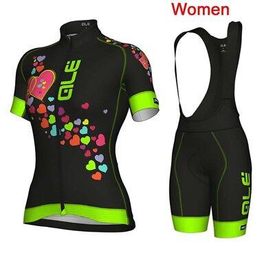 New Cycling Bike Clothing Bicycle Sports Wear Short Sleeve Jersey Bib Shorts Set
