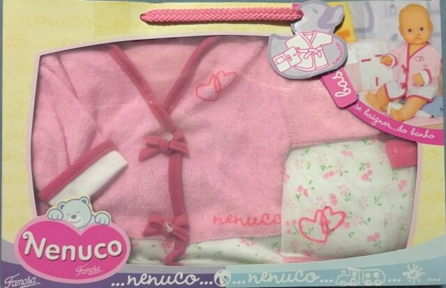 FAMOSA NENUCO BATHTIME OUTFIT SUITS 42cm DOLL BRAND NEW