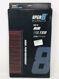 UPGR8 HD PRO OEM Replacement Drop-In Panel Air Filter DRY High Flow Accord K24