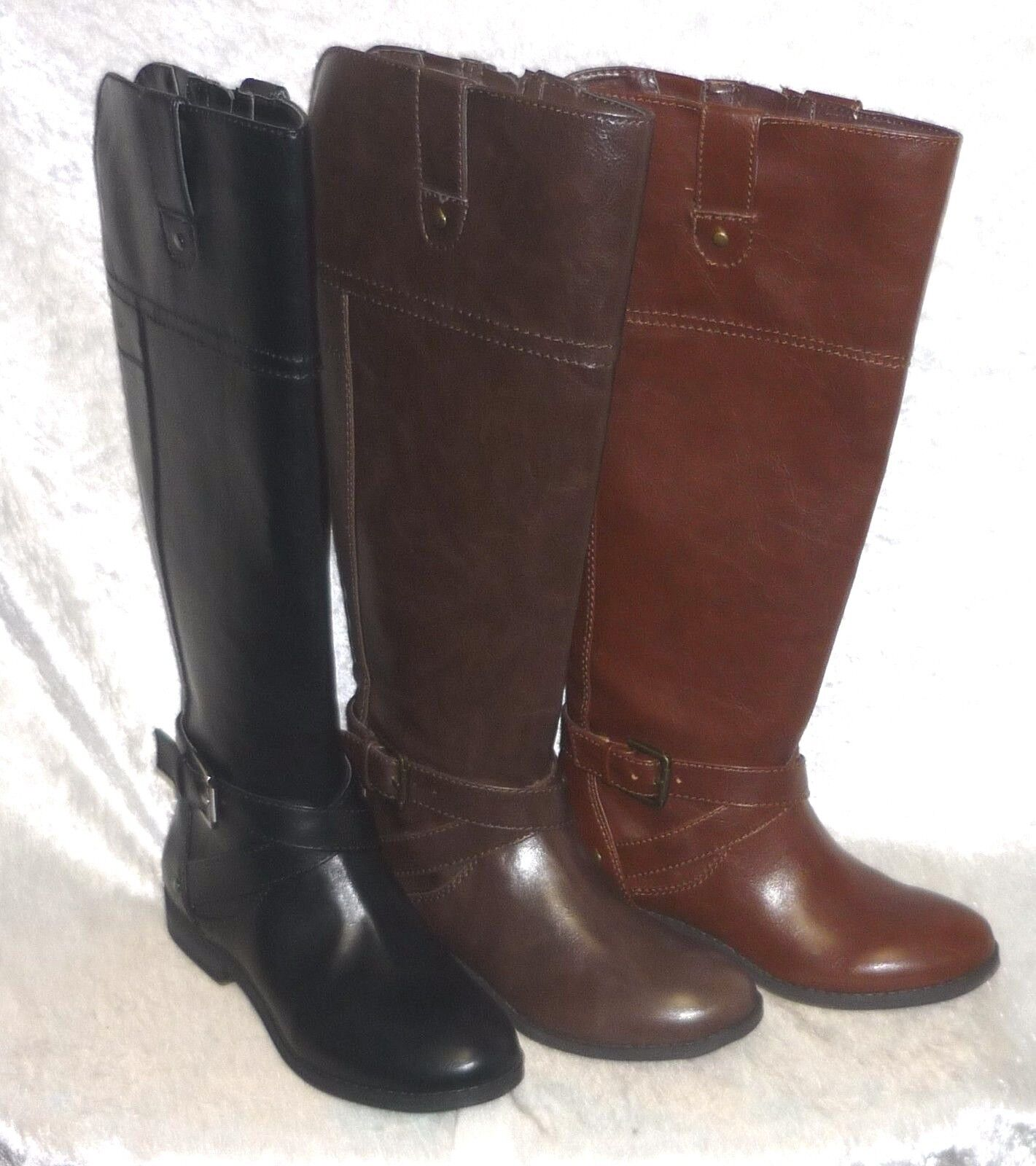Liz Claiborne Womens Boots Amberly Man Made Solid size 5 5.5 6 6.5 7 NEW
