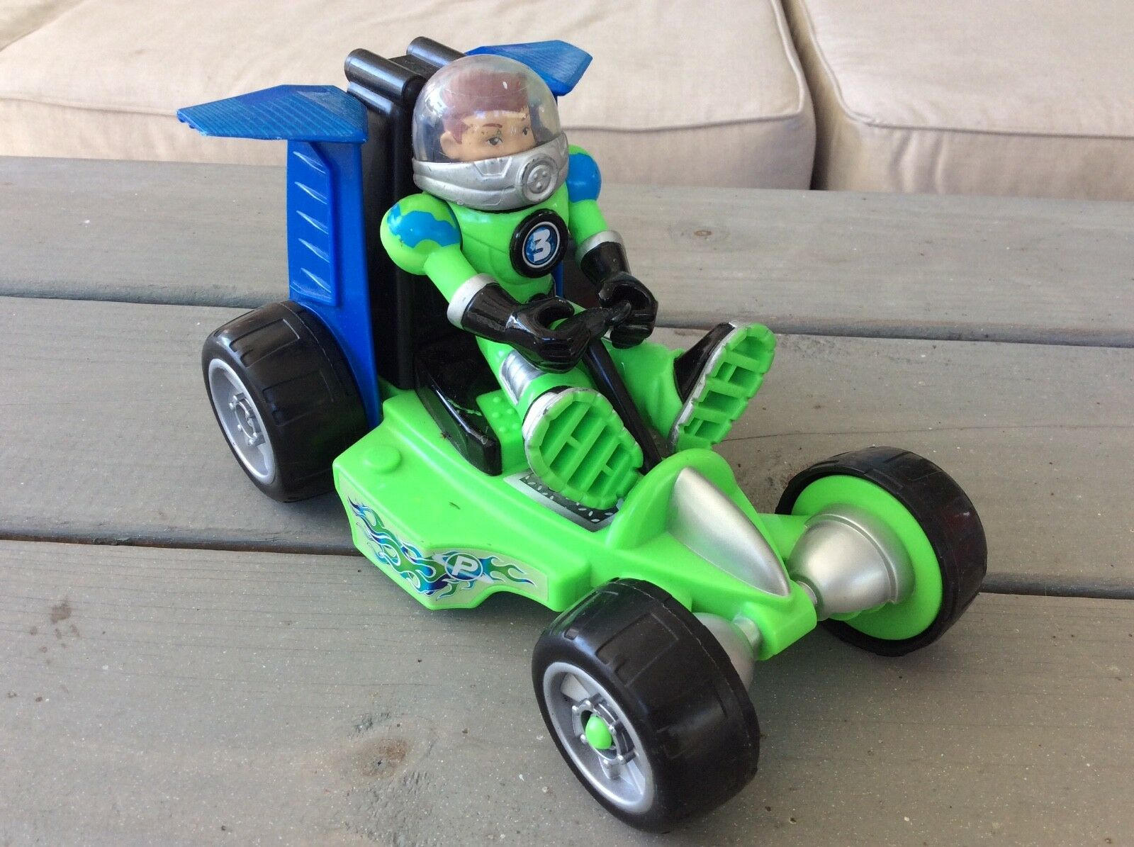 Earth  Ace  with moon moon moon rover car Planet Heroes Figures Fisher Price be3b97