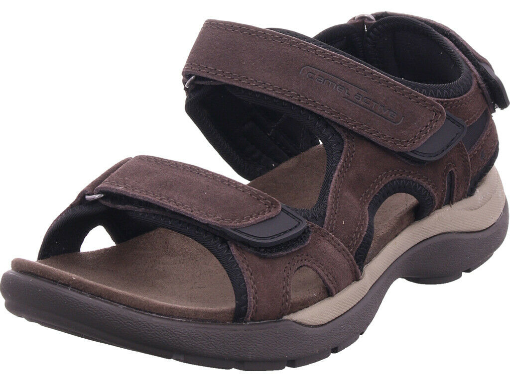 Camel active Hommes Explorer 11 Sandale Sandale D'été Chaussures marron