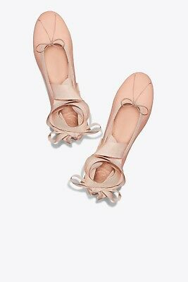 NIB Tory Burch Elodie Ankle-Wrap Ballet