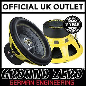 Ground-Zero-Iridium-GZIW-12SPL-12-034-30cm-Dual-2-Ohm-1000-Watts-SPL-Car-Subwoofer
