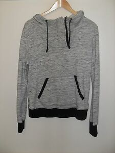 077e2d2c99e4 Image is loading Converse-Grey-Hoodie-Womens-Size-Large