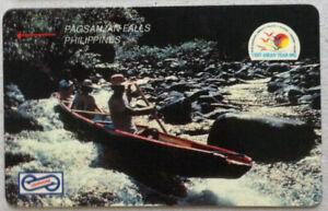 Malaysia-Used-Phone-Card-Visit-ASEAN-Year-1992-Pagsanjan-Falls-Phippiines