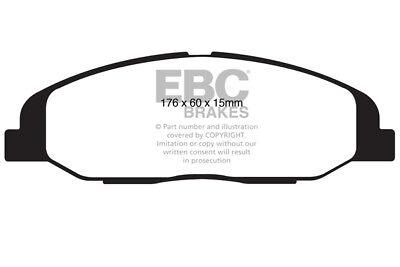 EBC For Cadillac EBC Yellowstuff Ultra High friction pad set DP41828R Front