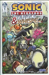 Sonic The Hedgehog Tangle Whisper 1 Diana Skelly Variant Cover Idw 1 10 Ebay