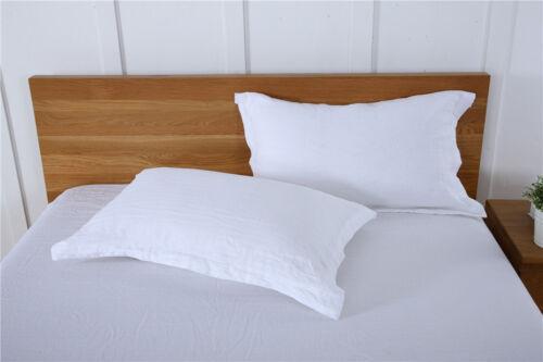 100/% Pure Linen Pillowcase Natural Pillow Sham Cover