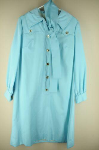 Vintage Norman Wiatt Women's Paled Turquoise 60's