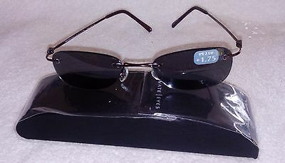 MAGNIVISION Bi-Focal Sun Readers Reading Sunglasses NWT +1.75