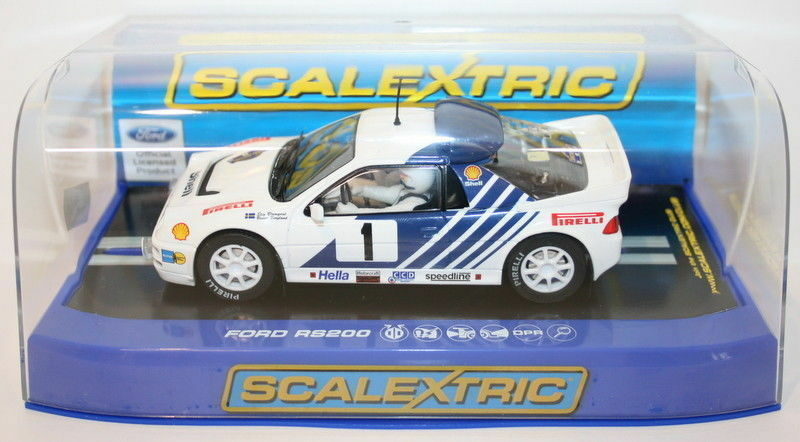 Scalextric 1 32 Scale C3493 - Ford RS200 - Stig Blomqvist - Rally Sweden 1986