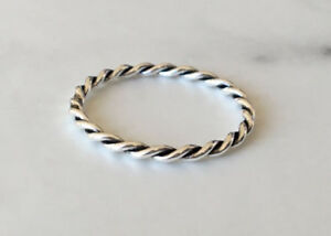 Sterling-Silver-Twisted-Rope-Twist-Stackable-Stack-Band-Size-5-6-7-8-9-10-11-12