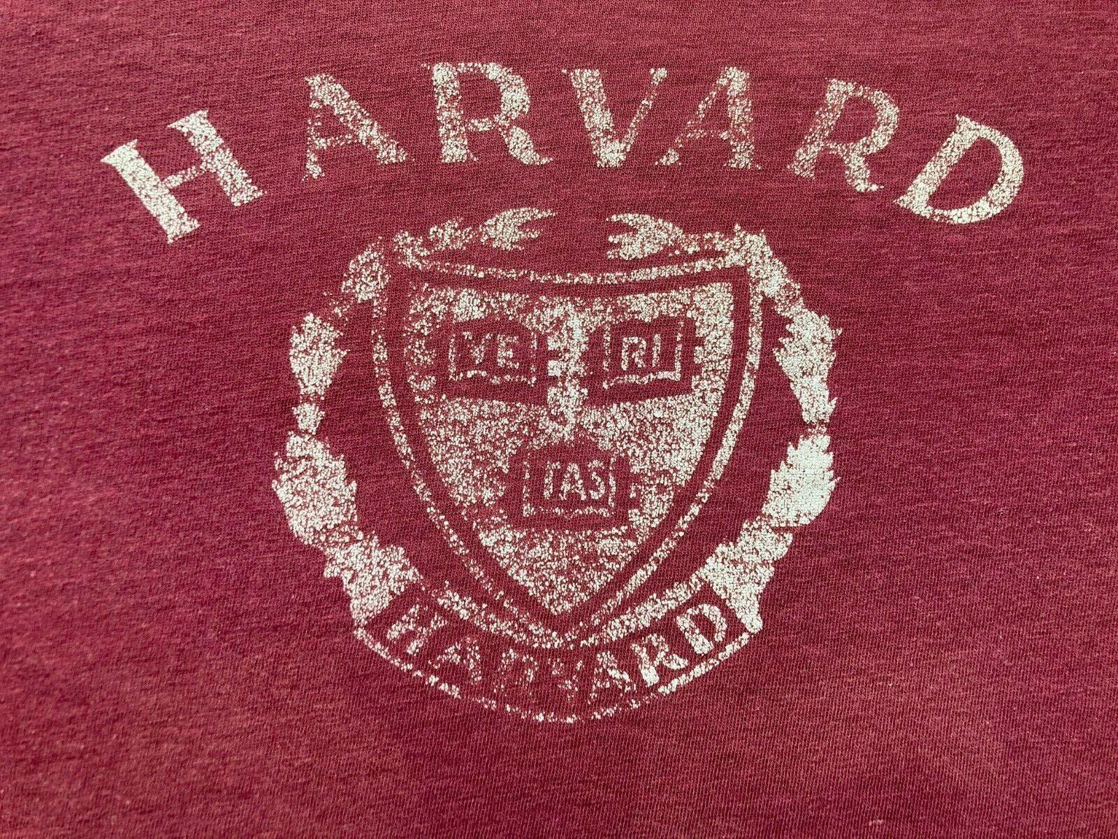 VINTAGE 70s/80s HARVARD UNIVERSITY CHAMPION T-SHI… - image 2