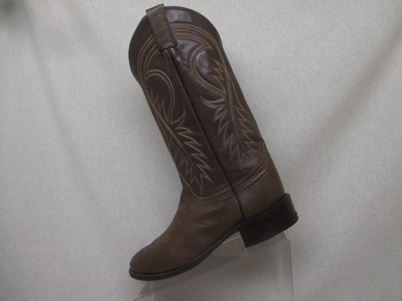TONY LAMA Brown All All Brown Leather Cowboy Western Boots Mens Size 8 D Style 76162 64664b