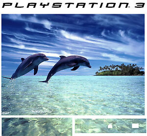 Faceplates, Decals & Stickers Playstation 3 Ps3 Delfines Pegatina Vinílica Protectora