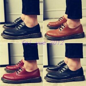 Low Up Scarpe Sneaker Top Casual Lace Toe Dress Mens Round Oxford Brogue A748q