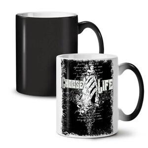 Choose Life Dead NEW Colour Changing Tea Coffee Mug 11 oz | Wellcoda