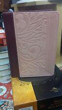 BIBLIA REINA VALERA 1960 TAMAÑO MANUAL LETRA GRANDE INDICE CON REFERENCIAS ROSA