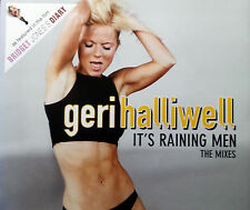 GERI HALIWELL 4 TRACK CD IT'S RAINING MEN FREE POST IN AUSTRALIA