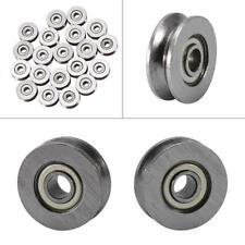 10PCS Miniature Bearings V623 with V-groove 3*10*3mm Skateboard Bearing MF