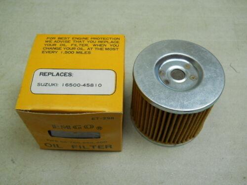 Oil Filter # 16500-45810   S89 GS750 GS550 Suzuki NOS Aftermarket GS400