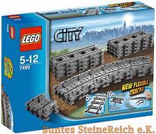 LEGO® City 7499 Fexible Schienen / Eisenbahn ! NEU & OVP !