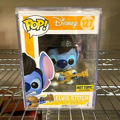 Disney Elvis Stitch Exclusive #127 New Funko Pop